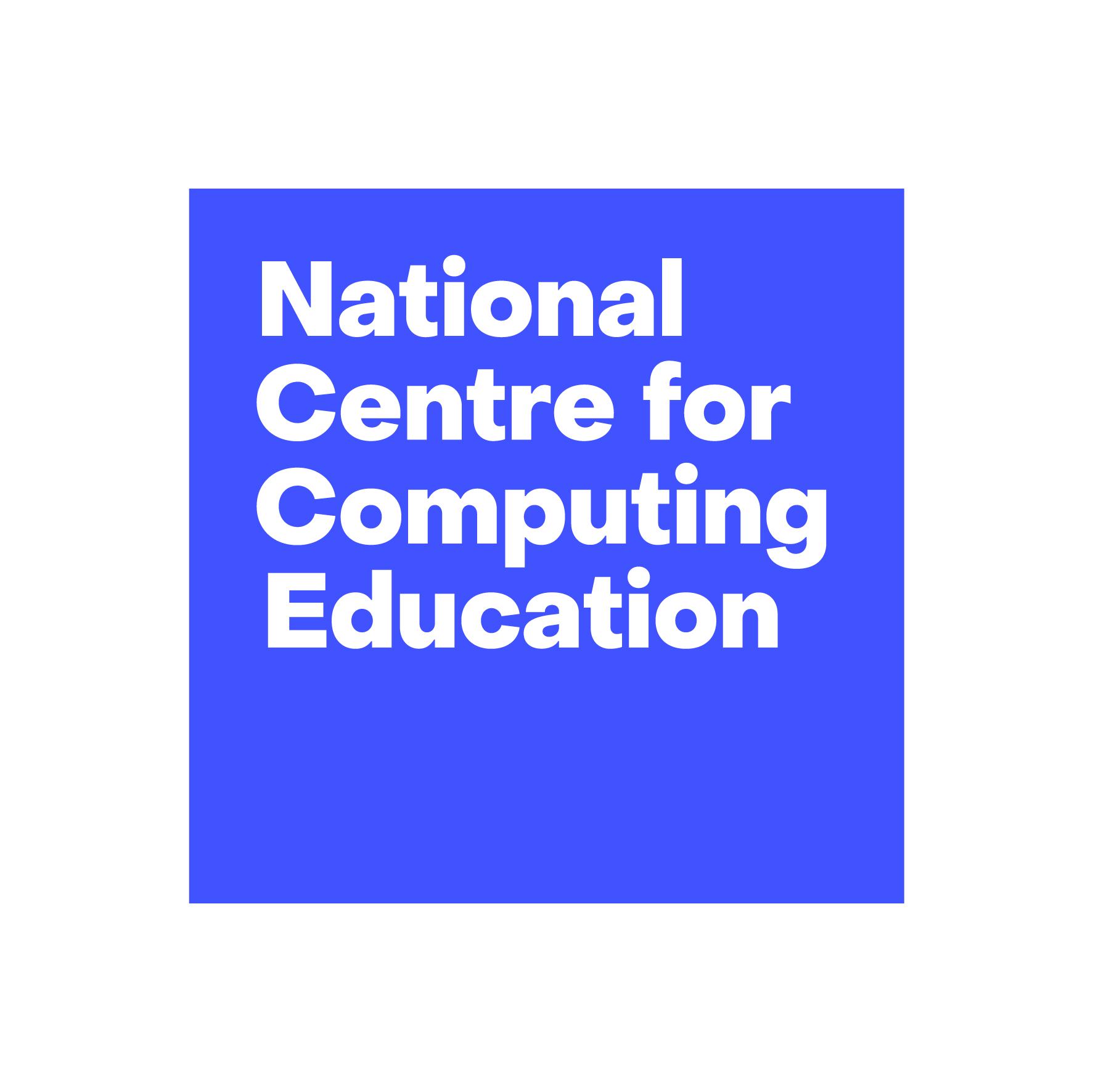 National Centre for Computing Education logo